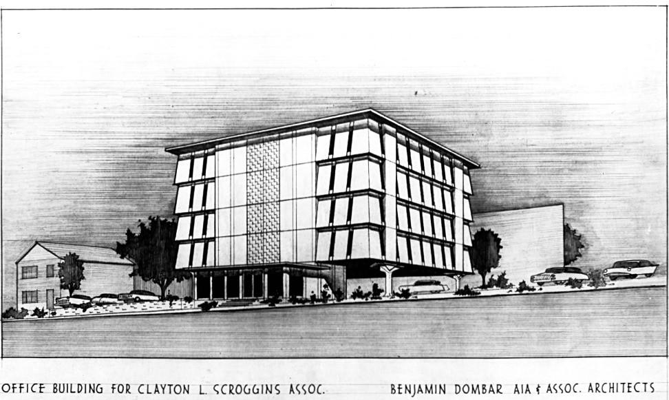 Office Building for Clayton L. Scroggins, Assoc.