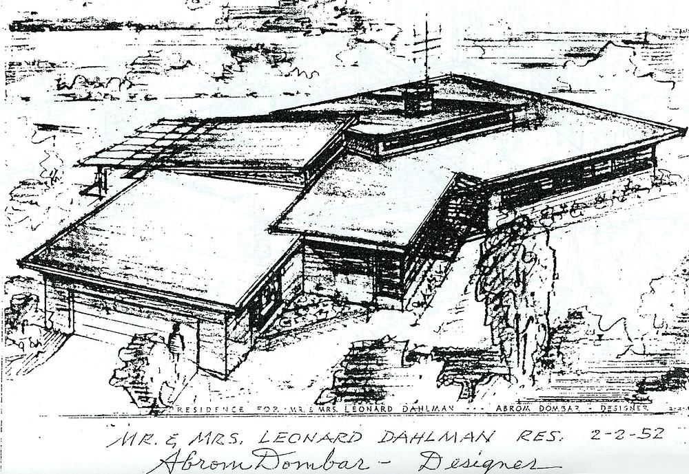 Leonard Dahlman house
