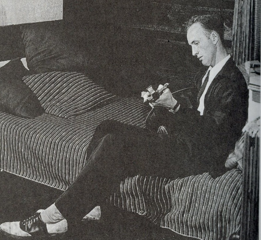 Photograph of John deKoven Hill