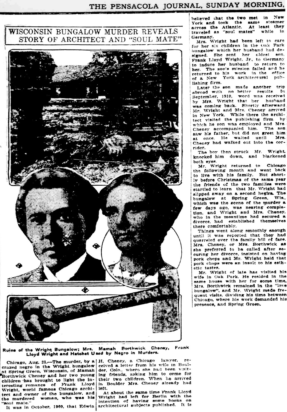 The Pensacola Journal (August 21, 1914)