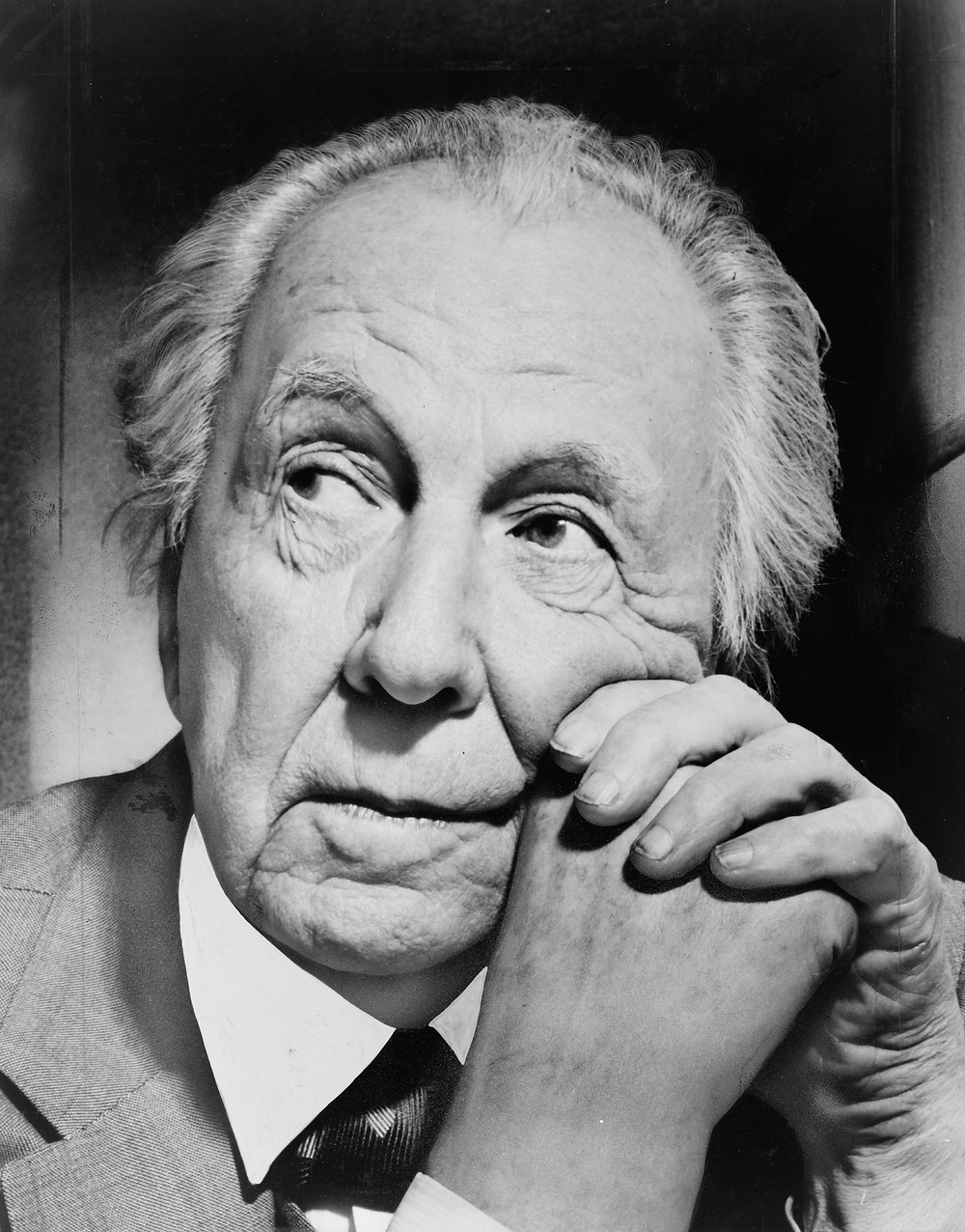 Portrait of Frank Lloyd Wright