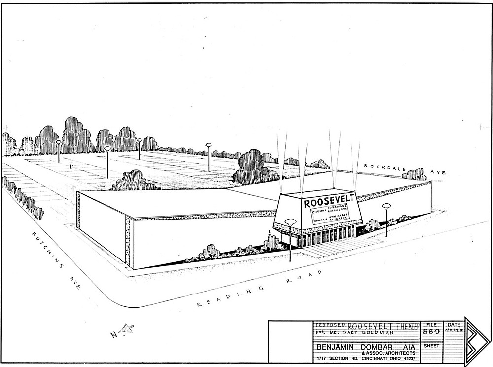 Proposed Roosevelt Theatre for Mr. Gary Goldman