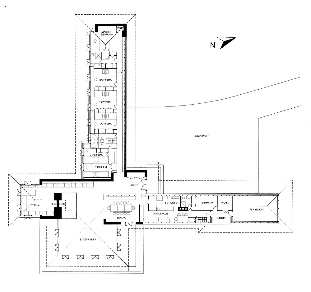 Boswell house floor plan
