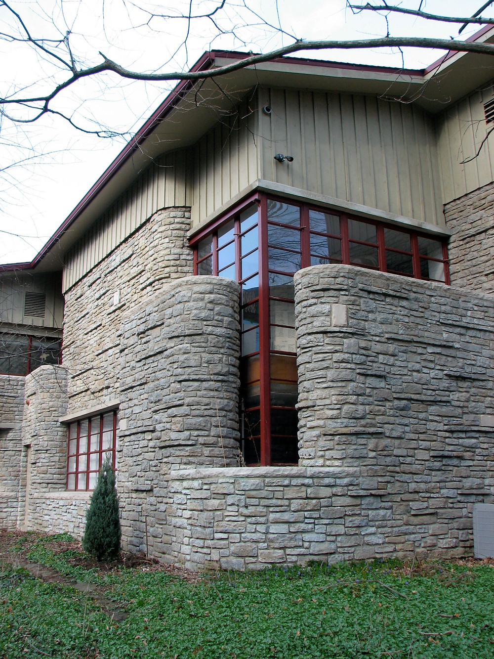 Rear view of Trailside Nature Museum