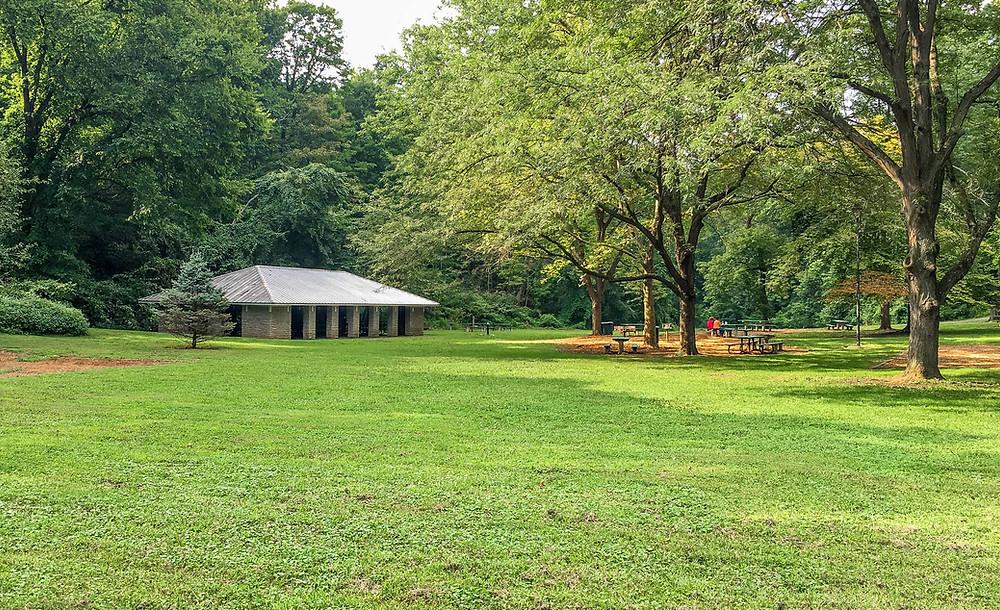 Open Shelter Pavilion in Burnet Woods