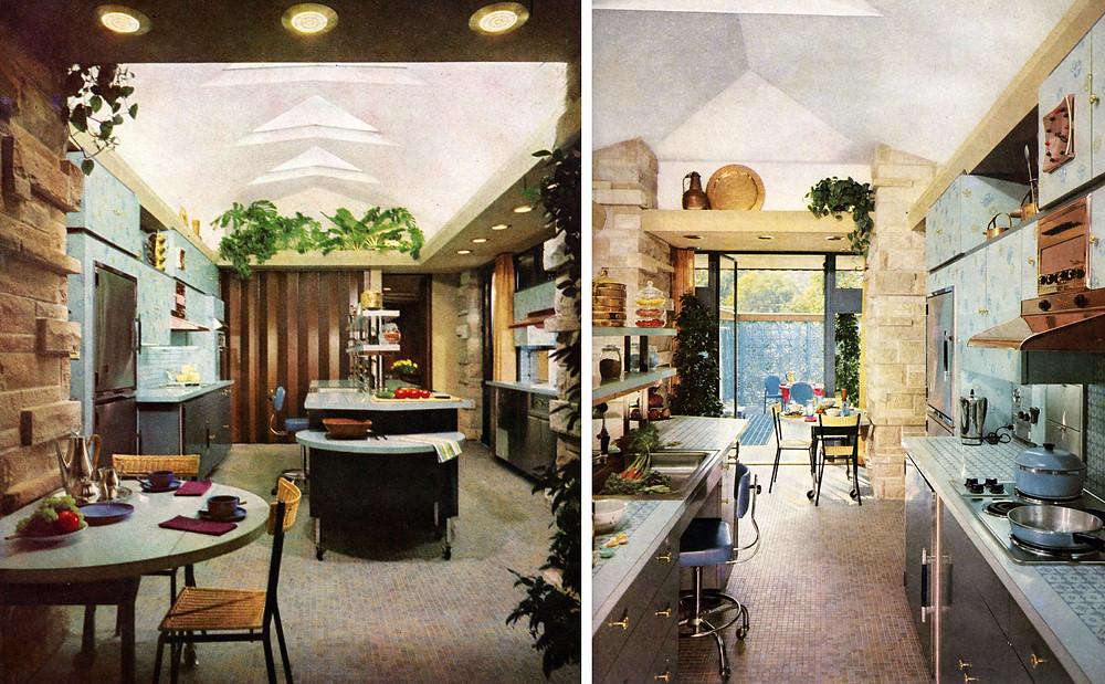 Interior views of Kitchen