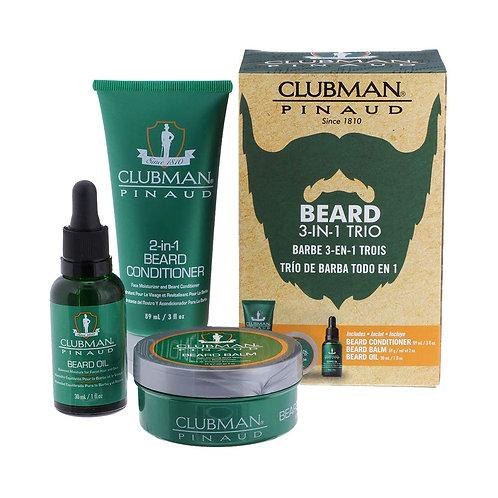 Clubman Pinaud Beard Kit