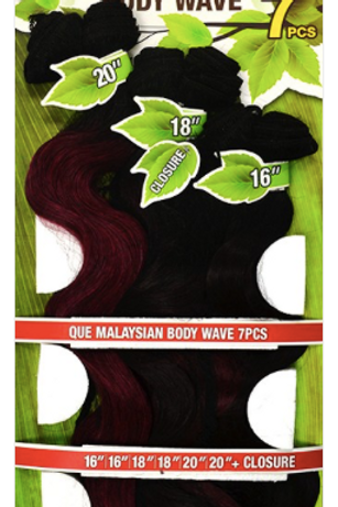 Malaysia Body Wave Shake-N-Go 7pc Pack