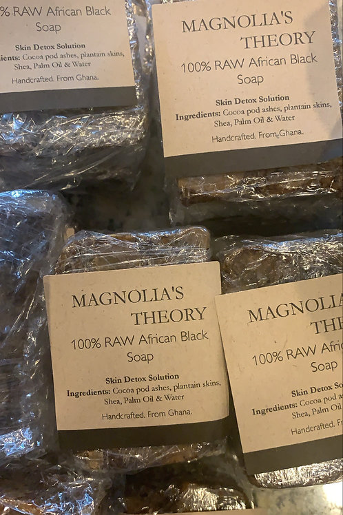 100% RAW African Black Soap