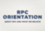 Website RPC Orientation Button Homepage.