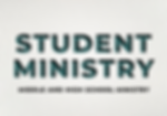 Website Student Ministry Button Homepage