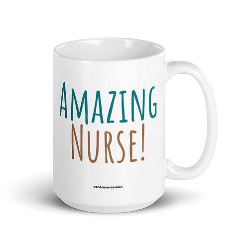 Amazing Nurse 15 oz Mug