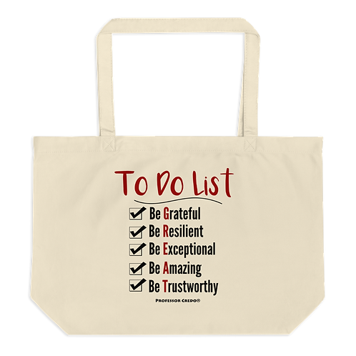 To Do List Tote Bag