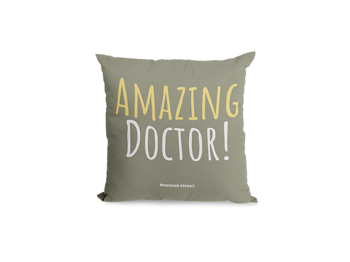 AMAZING DOCTOR! PILLOW