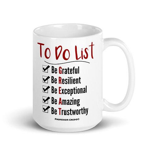 To Do List 15 oz Mug