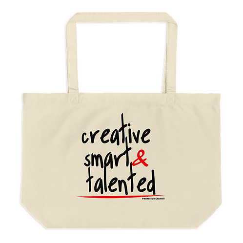 Creative, Smart...Tote Bag