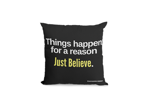 THINGS HAPPEN...Pillow