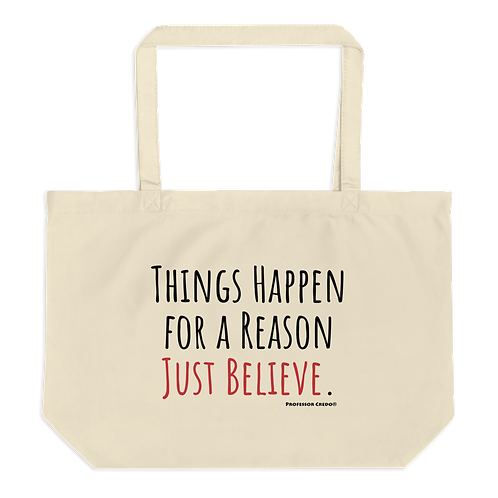 Things Happen for a Reason Tote Bag