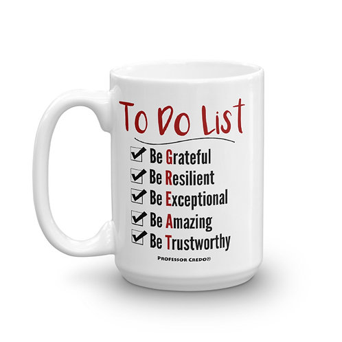 To Do List 15oz Mug