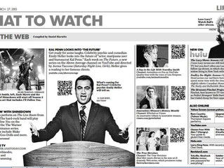 'WHAT TO WATCH ' USA TODAY