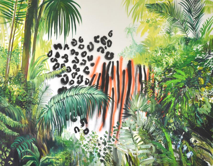 Dschungel, Vladimir Schneider, 2014