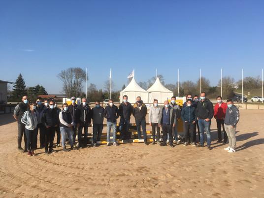 FORMATION : Les chefs de piste de l'Est de la Région Auvergne-Rhône-Alpes réunis la semaine dernière