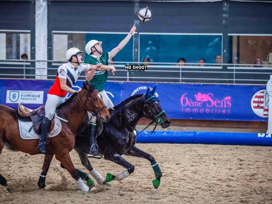 CHAMPIONNAT DE FRANCE DE HORSE BALL : LOIRE SUR RHONE TOUJOURS EN TETE !