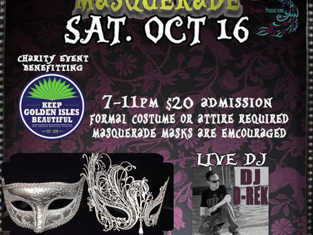 October 16th's Dark Masquerade promises an evening of dancing and fun benefitting KGIB
