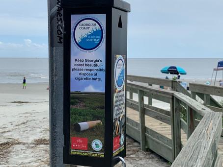 Coastal Georgia Cigarette Litter Prevention Effort Underway