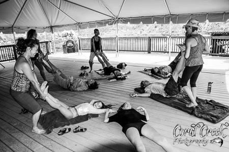 Thai Yoga Massage Workshop at Yarmony Music Festival