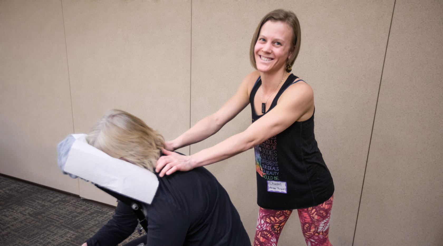 Chair Massage at Vail Valley Partnership