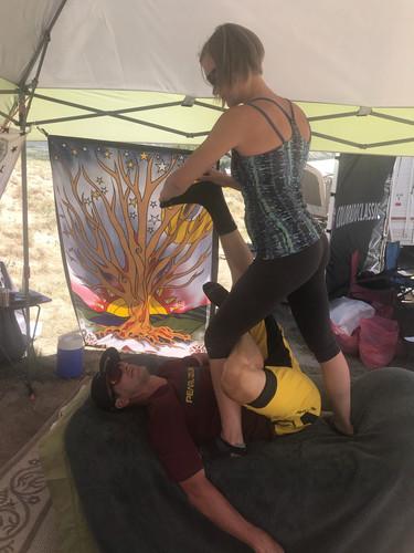 Thai Massage at the Go Pro Games