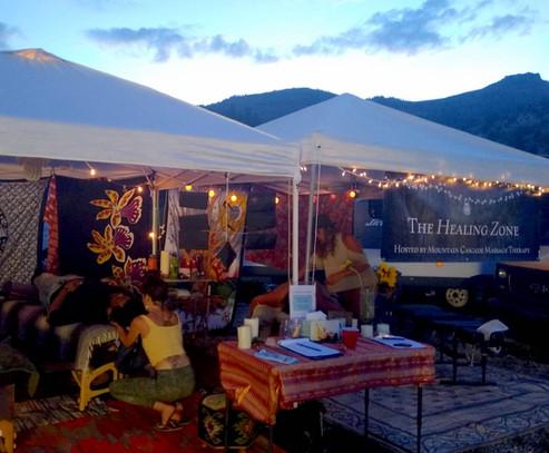 Healing Zone at Yarmony Music Festival '19, Rancho del Rio