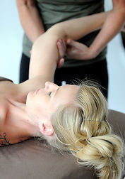 thai fusion massage, assisted stretching, table thai yoga massage