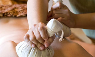 Chantel Havre, Mountain Cascade Massage Therapy, Eagle Vail, Avon, Vail, CO, hot herbal compress, thai herbal compress
