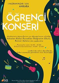 Öğrenci Konseri 2018