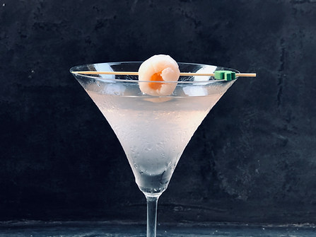 Lechee Martini