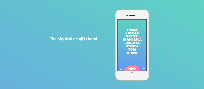 Hug Emoji Text