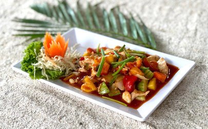 Sweet & Sour Seafood
