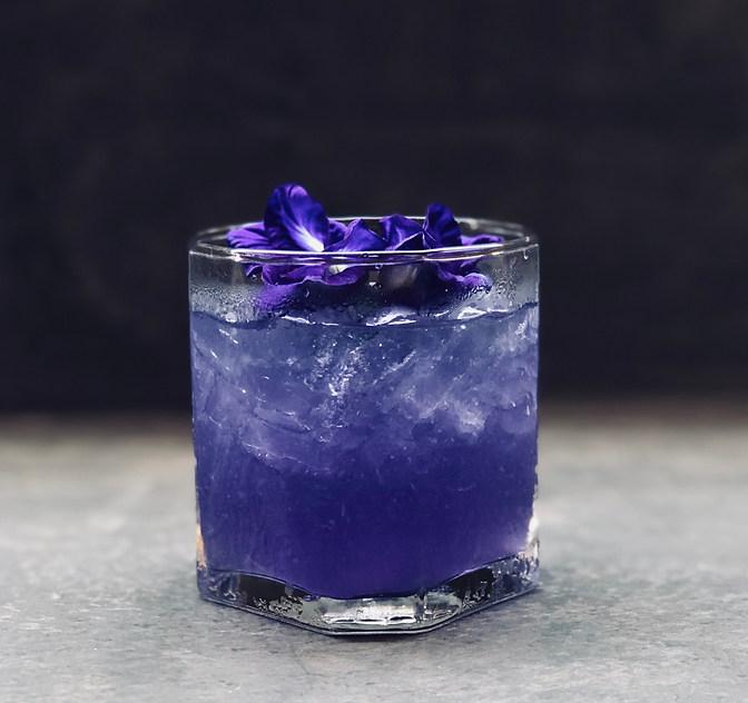 Butterfly pea flower & Vodka