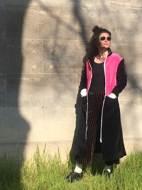Velvet Coat FLAMINGO