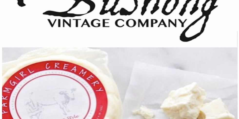 Sip & Taste with Bushong Vintage Company & Farmgirl Creamery!