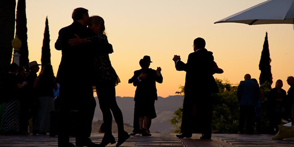 ***Twilight on the Terrace at Hearst Castle ***