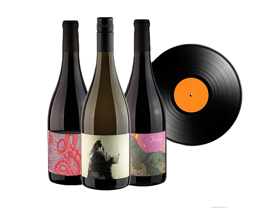 Mystery LP + Wine Bundle