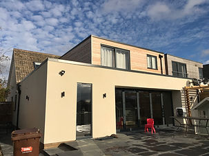 2 storey extension and extensive alterations renovation