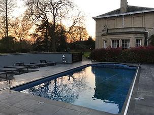 Renovation of pool area