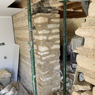 Barn Conversion stone opening