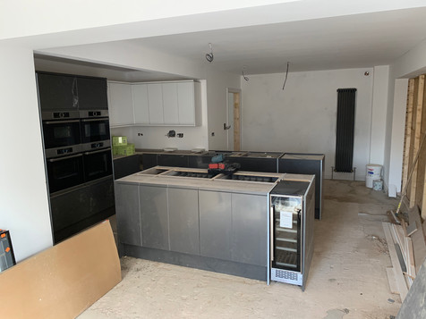 4- Kitchen install and doors and windows