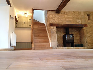 (Internals) Renovations and alterations to character property including loft conversion.