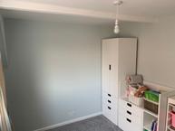 New bedroom- was bathroom